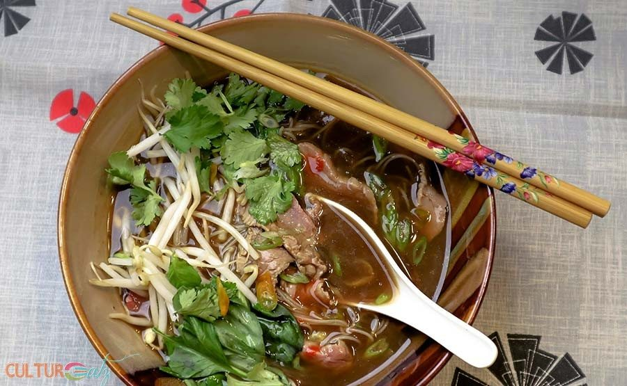 Vietnamese Beef Pho Play Soup with Coffee: an Aphrodisiac Recipe