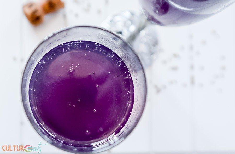 Lilac Violet Wedding Cocktail
