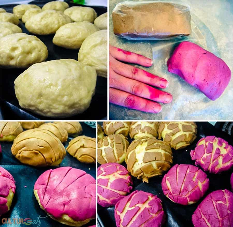 making Mexican Conchas Recipe