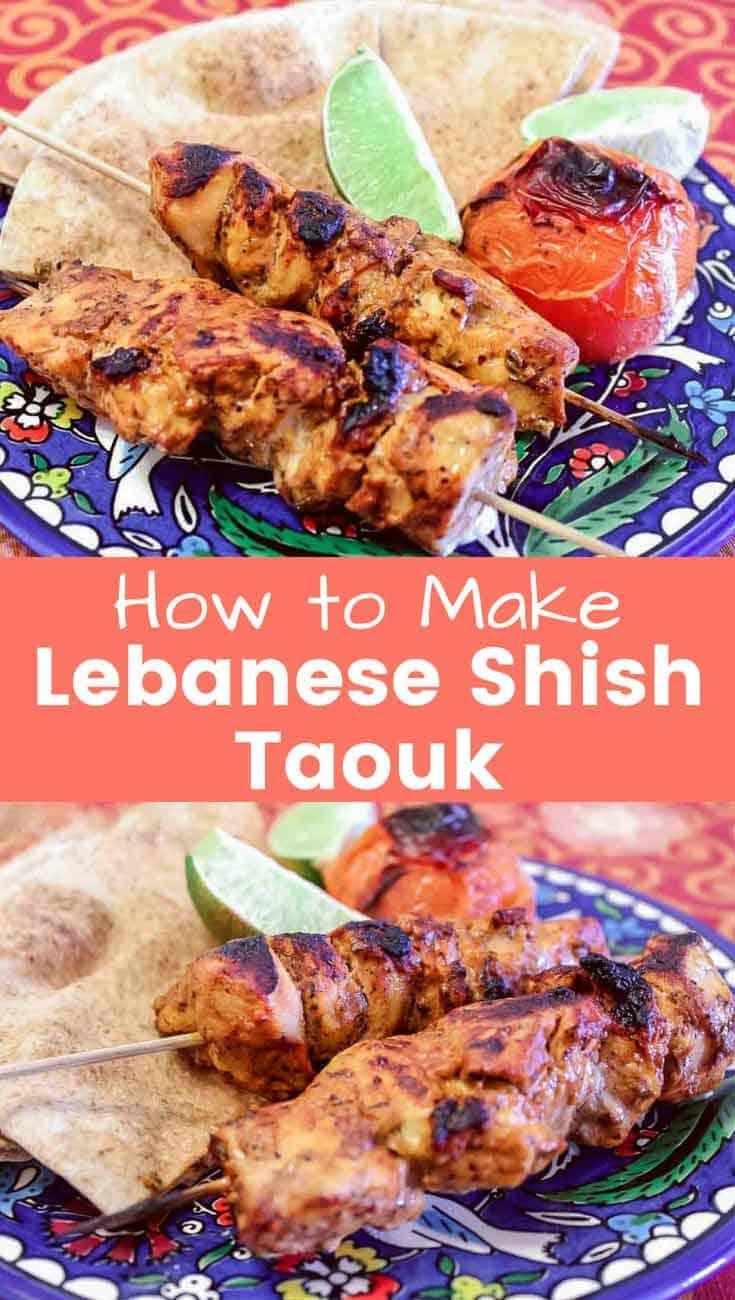Lebanese Shish Taouk
