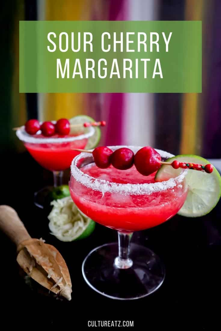 Sour Cherry Margarita