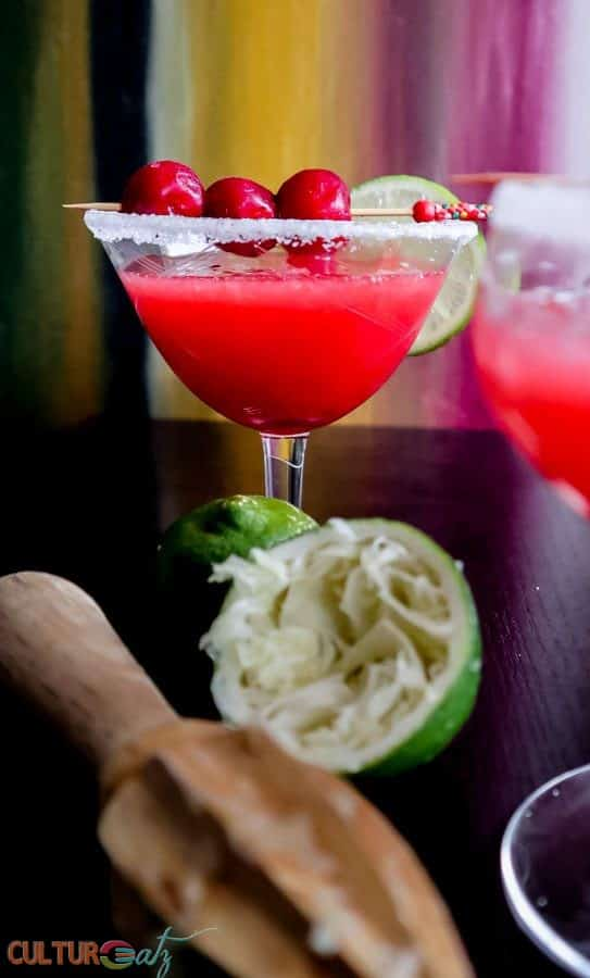 Sour Cherry Margarita recipe