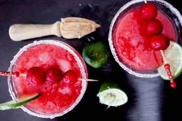 Sour Cherry Margarita recipe