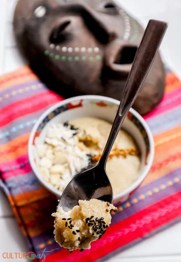 Uji Kenyan fermented porridge