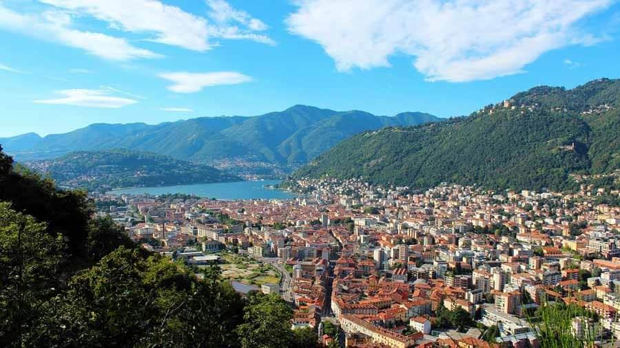 Italian Lakes Holidays Lake Como view lake cuomo italy