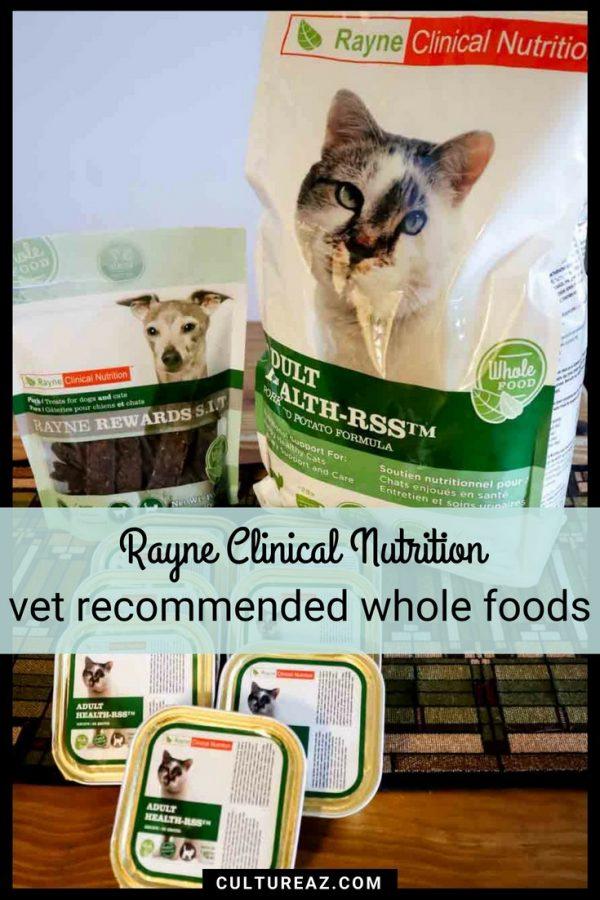 Rayne vet recommended whole foods feline