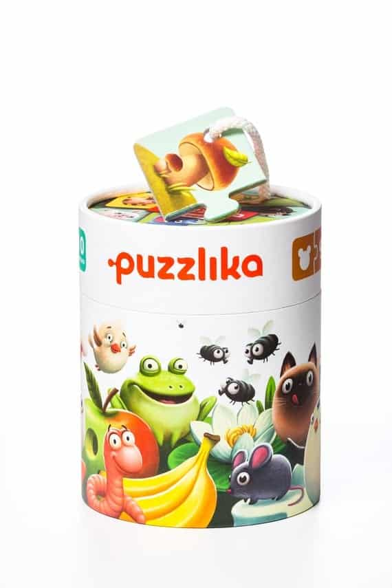 My Food Puzzle by Puzzlika for Toddlers