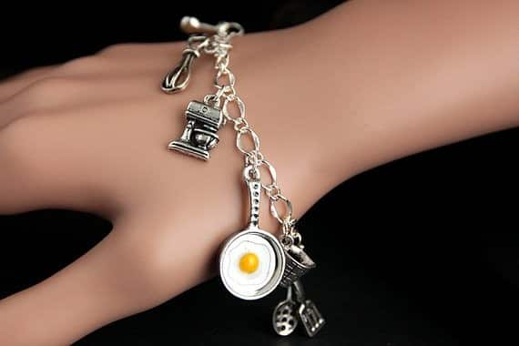 Cooking Charm Bracelet