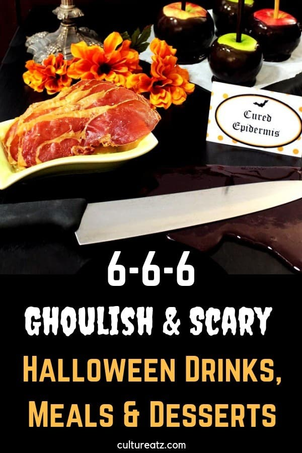 666 Ghoulish and Scary Halloween Drinks, Meals and Desserts