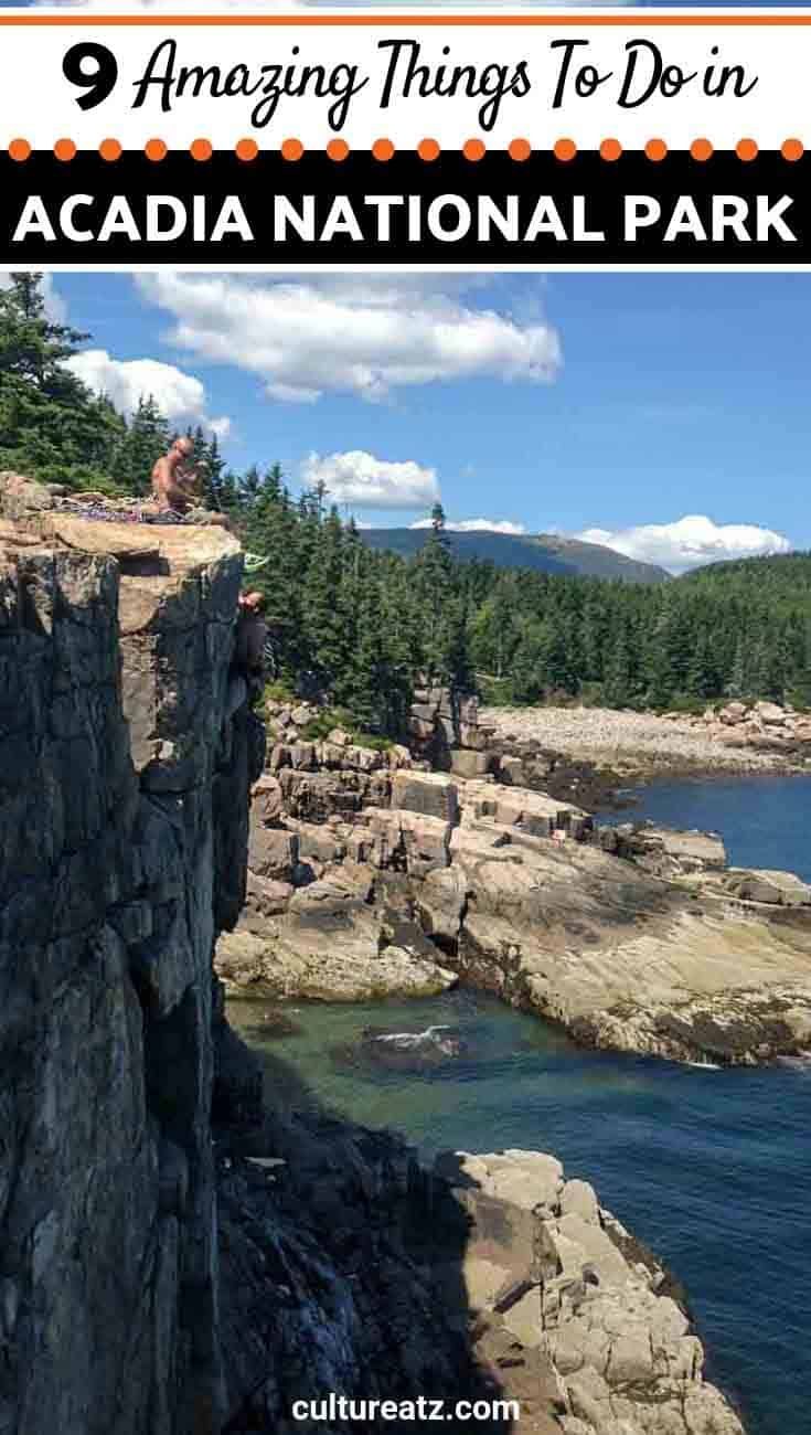 9 Amazing Things To Do in Acadia National Park Maine