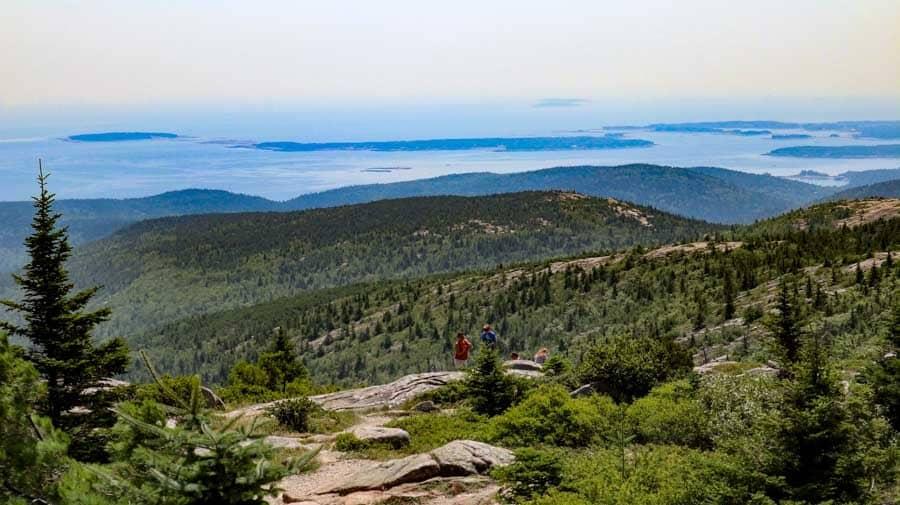 Acadia National Park Maine Cadillac Mountain