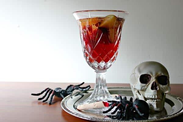 Blood Red Mocktail Sangria