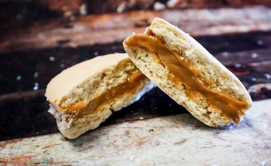 How To Make Argentinian Alfajores Dulce De Leche Sandwich Cookies