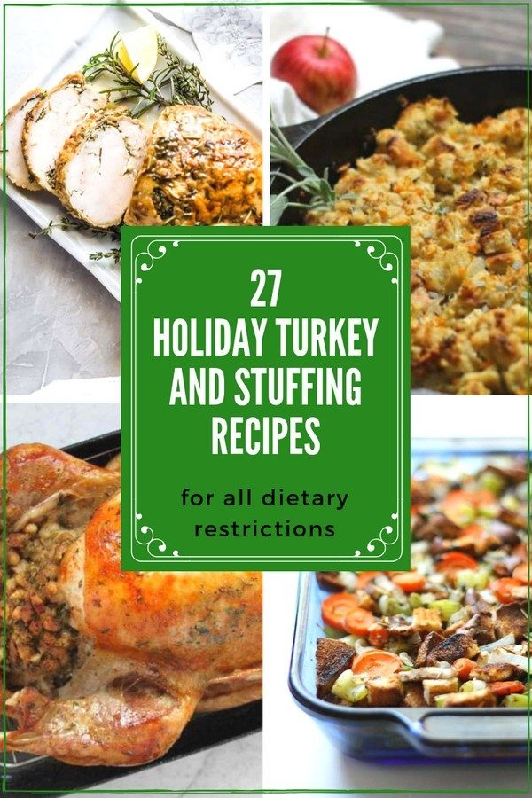 Thanksgiving Turkey and Stuffing recipes