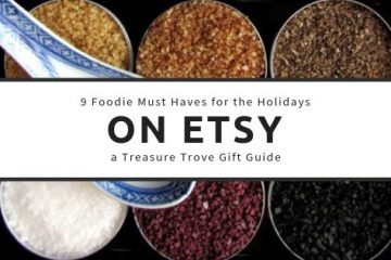 9 Foodie Must Haves for the Holidays Etsy gift guide