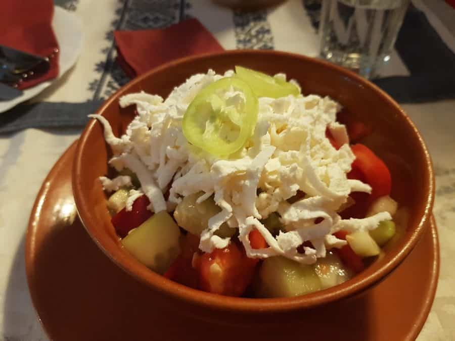 Bulgaria - Shopska Salad