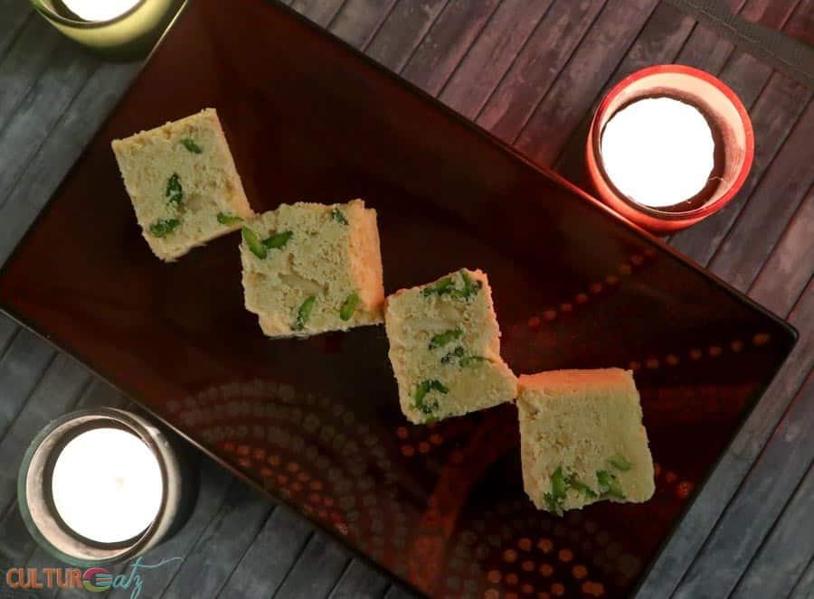 The Soan Papdi recipe, an Indian sweet recipe for a Diwali food menu