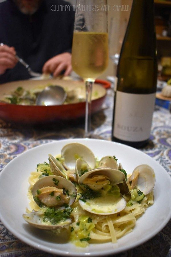 Tangled Up Linguine Alle Vongole