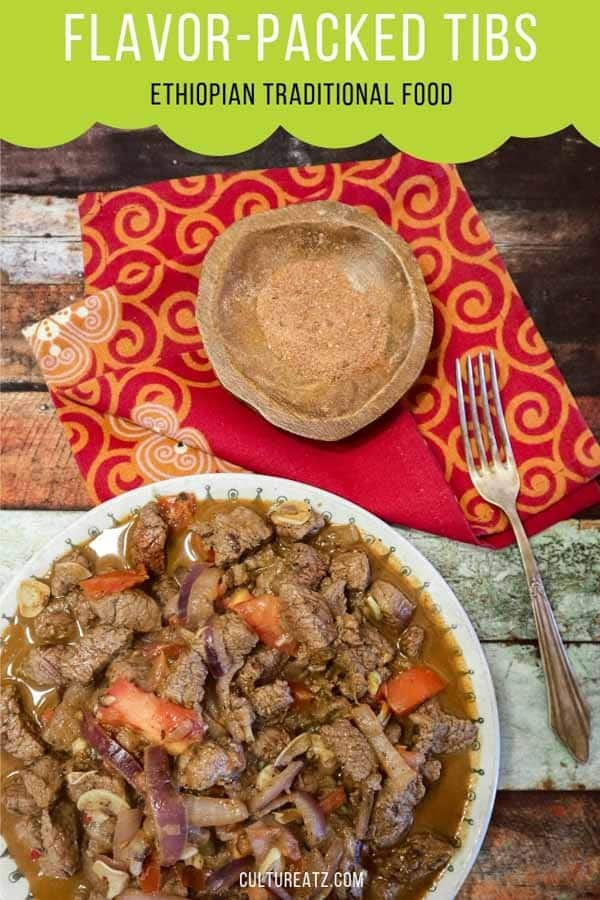 Flavor-Packed Shekla Tibs, not your Standard Ethiopian Traditional Food