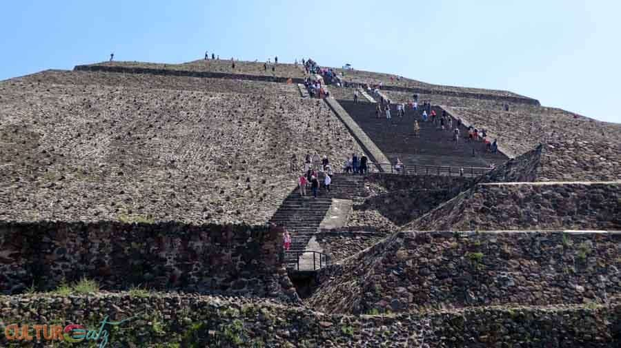 Trip to Mexico City teotihuacan temple of the sun