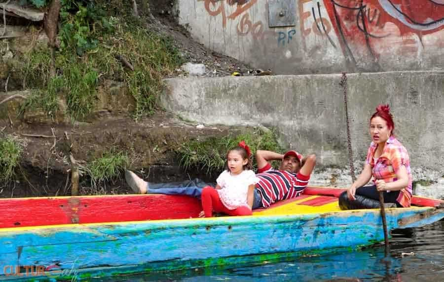 Trip to Mexico City xochimilco locals