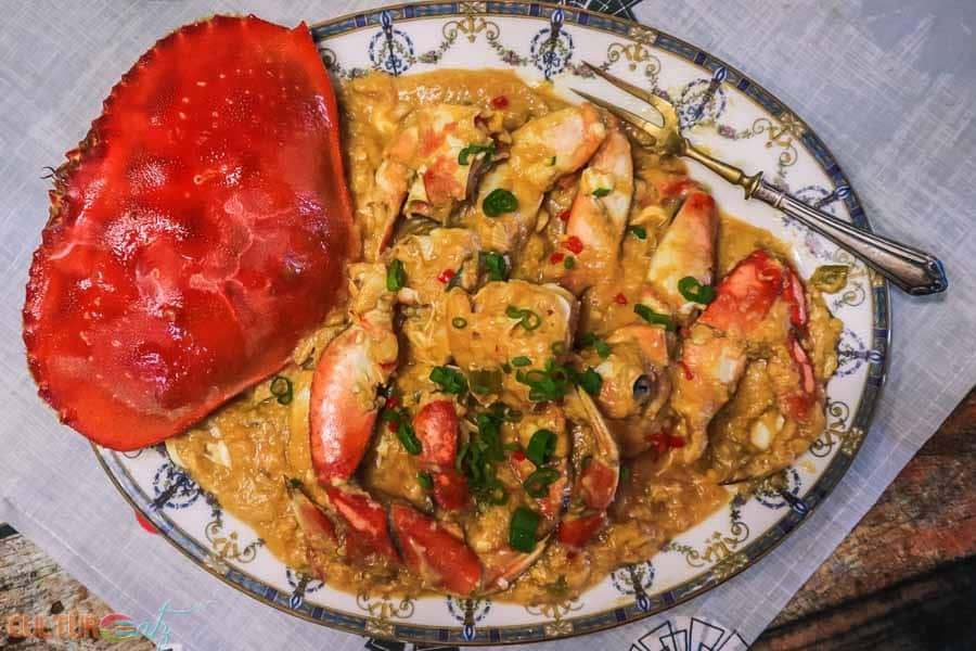 singapore chili crab recipe