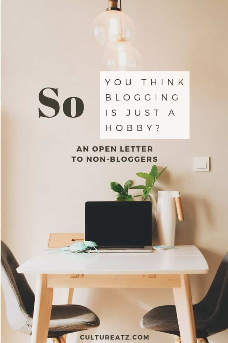Open Letter to Non-Bloggers