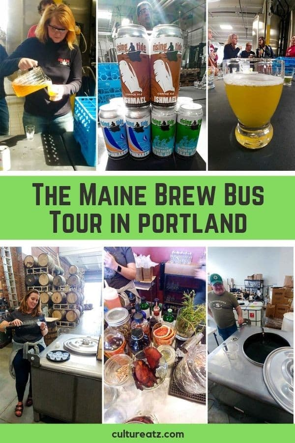 The Maine Brew Bus Tour