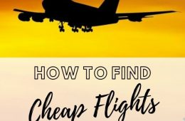 How to Find Cheap Flights skyscanner