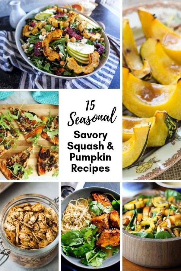 Savory Winter Squash and Pumpkin