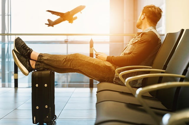 airport man