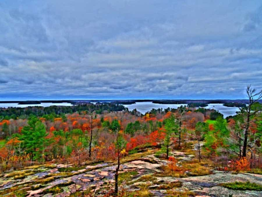 Huckleberry Rock Lookout Muskoka