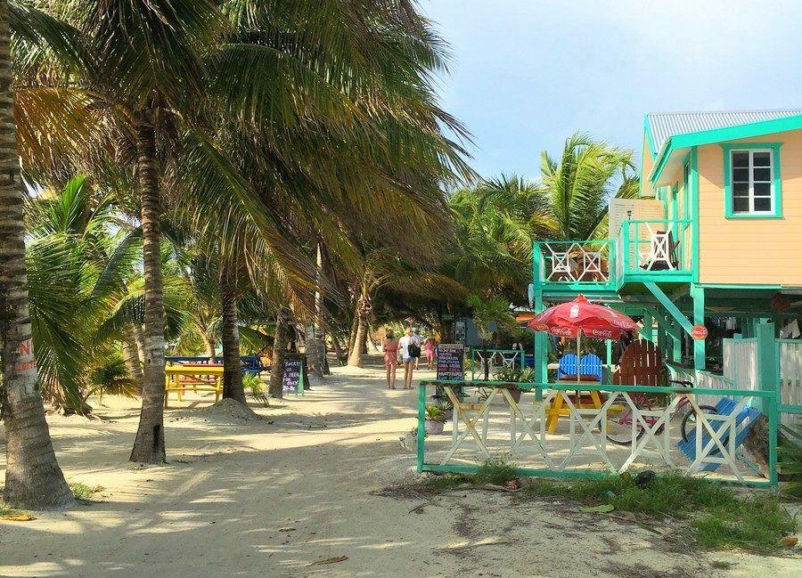 Travel in November Caye Caulker