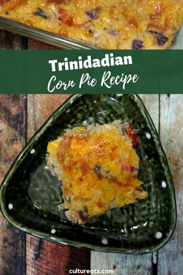 Trinidadian Corn Pie Recipe