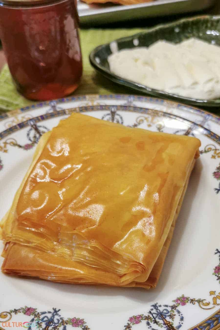 Iraqi Kahi pastry recipe
