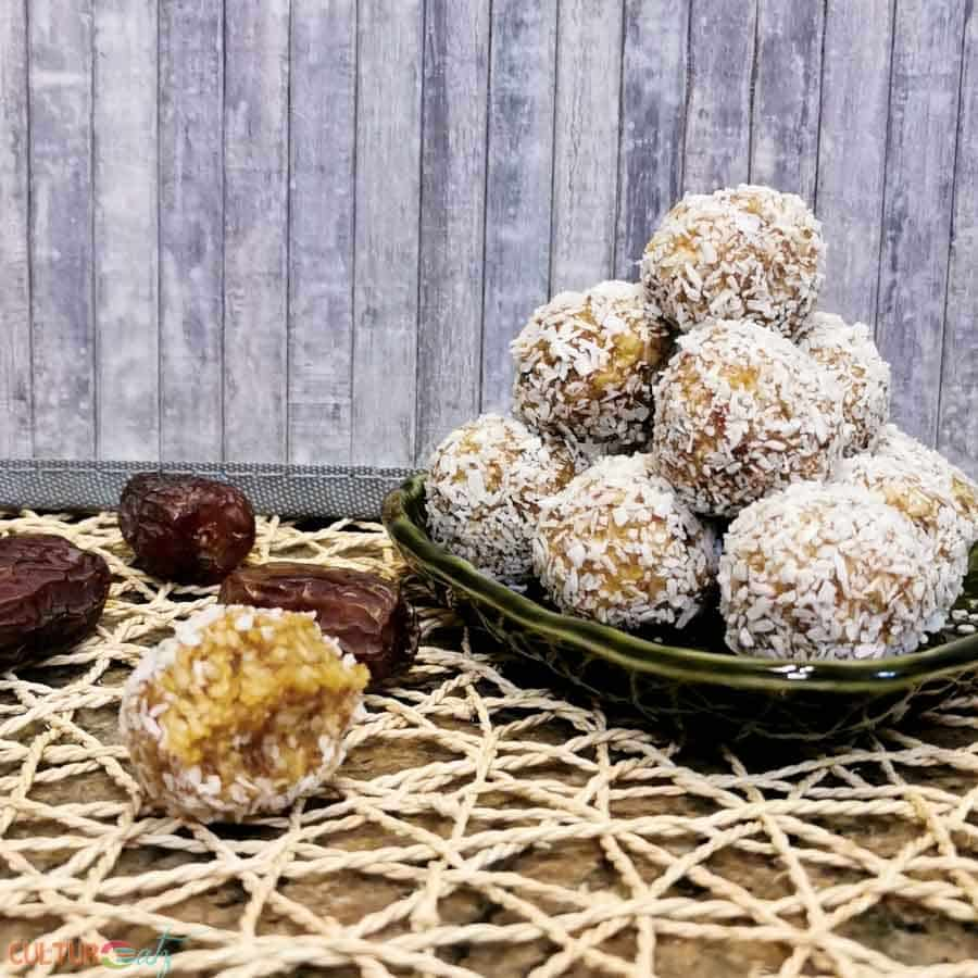 How to Make Caramel Coconut Bliss Balls
