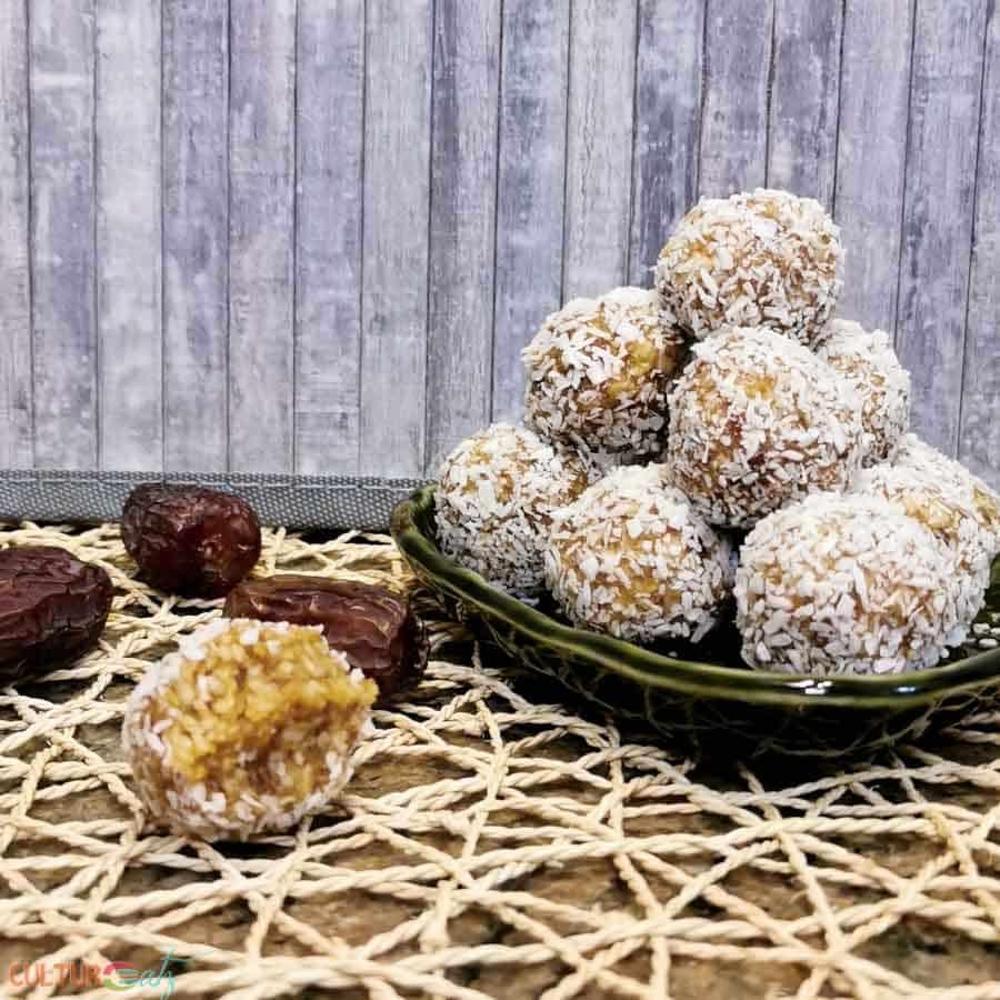 How to Make Caramel Coconut Bliss Balls