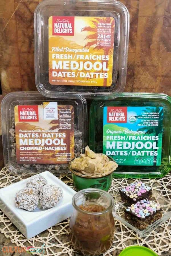 Natural Delights dattes Medjool recettes de collations santé
