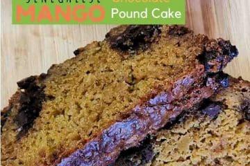 Senegalese Mango Chocolate Pound Cake