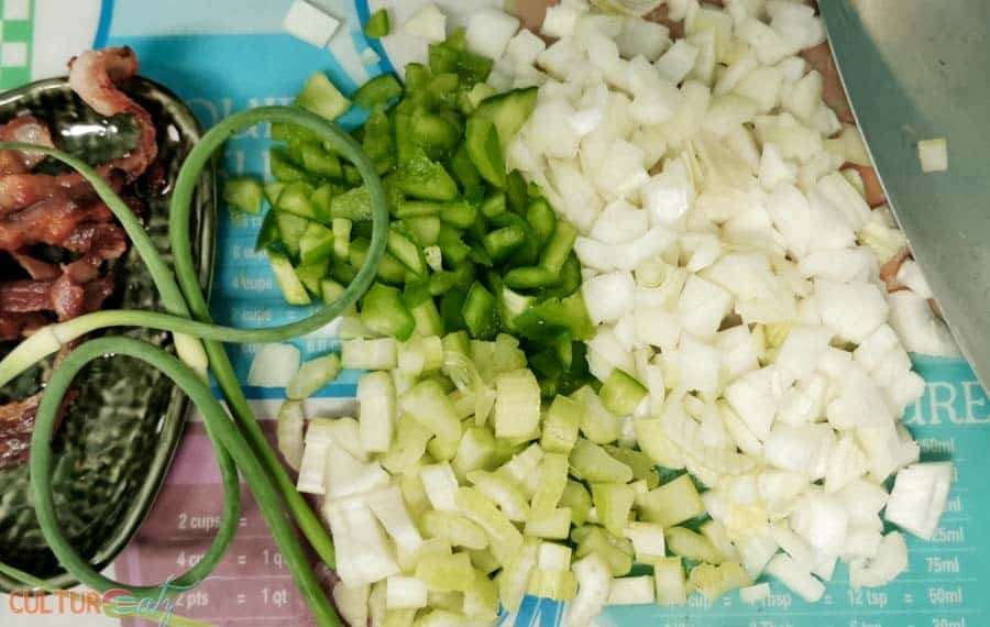 holy trinity onion green pepper celery
