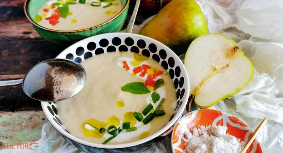 cold pear soup