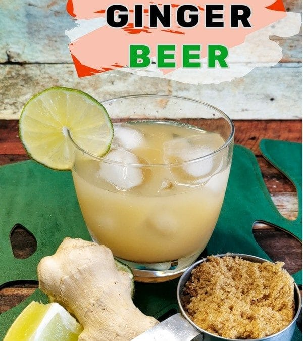 How to Make Jamaican Ginger Beer Recipe! And it's Non-alcoholic