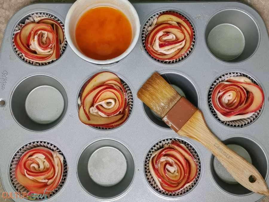 baking Apple Roses