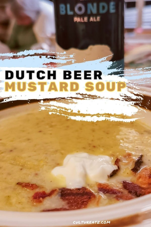 Dutch Beer Mustard Soup
