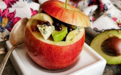 Comment faire des paniers de fruits comestibles avec des pommes
