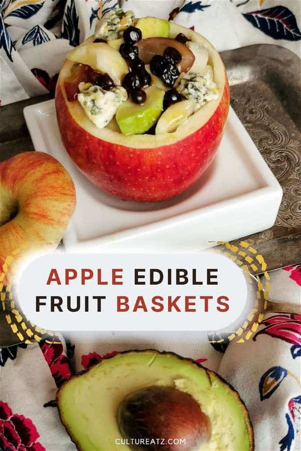 Apple Edible Fruit Baskets