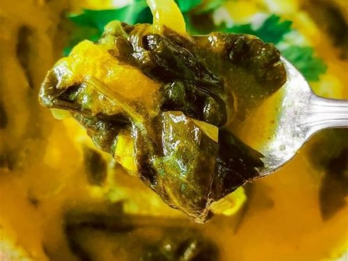 Lesotho Spinach and Tangerine soup-opt
